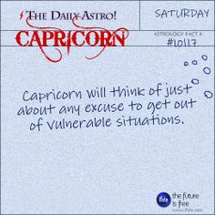 Capricorn Daily Astro!: Even if you don't know how to read a birth chart, you can get a free step-by-step reading on iFate.  Visit iFate.com today!