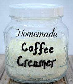 Defintely going to try this! I use coffee creamer in lots of recipes (hot cocoa mix, oatmeal packets...)