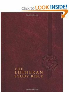 The Lutheran Study Bible: English Standard Version by Edward A. Engelbrecht. $38.15. 2372 pages. Publisher: Concordia Publishing House (October 31, 2009). Publication: October 31, 2009