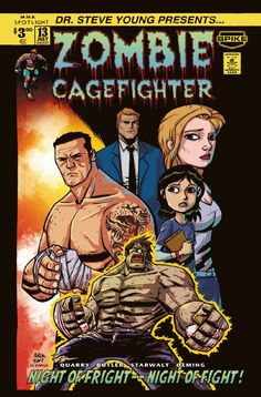 """ZOMBIE CAGEFIGHTER and written by Nate Quarry. Desperate times cause for desperate measures to provide for his family when former MMA fighter, Nate """"Rock"""" Quarry, chooses to enter the perilous underground circuit of zombie cagefighting. Bookworm Problems, Desperate Times, Ufc, Book Memes, Book Nerd, Bookstagram, Book Lovers, Book Worms"""