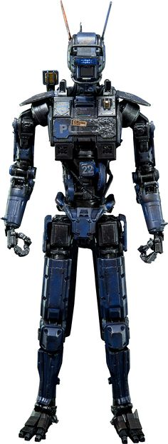 Chappie desk figure.