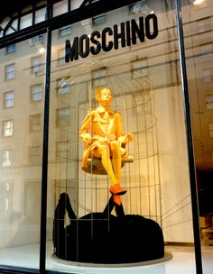 Moschino, Conduit St, London