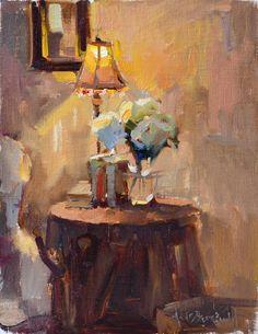 Anne Blair Brown Reading corner