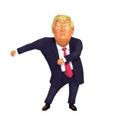 Floss Dance Fortnite Backpack kid emote by Cartoon Trump Trump Birthday Meme, Donald Trump Birthday, Dance Memes, Dance Humor, Funny Dance, Happy Dance Meme, Memes Baile, Smileys, Donald Trump Funny