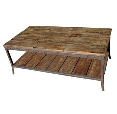 industrial coffee table - inspire trenton coffee table - Google Search