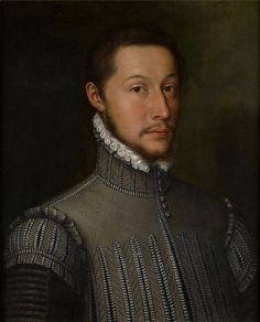 Portrait of a Gentleman in a pearl-gray jerkin, Monogrammist, 1556