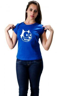 Camiseta Gato Felix : Faça da sua infância uma atualidade Um dos gatos mais famosos da televisão, aqui na Camisetas da Hora. Um clássico desenho animado, que a Camisetas da Hora não poderia deixar de prestigiar em forma de uma linda camiseta. http://www.camisetasdahora.com/p-4-1…/Camiseta-gato-felix-pb | camisetasdahora
