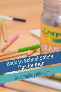 These back to school safety tips will help you understand how to keep your kids safe. You can never have too many safety tips in your tool box. #safetytips #frugalnavywife #backtoschool | Keeping Kids Safe | School Safety Tips | Busy Safety Tips | Back To School Easy Dinner Recipes, Fall Recipes, Diy Halloween Food, Safe Schools, School Safety, Types Of Craft, Seasonal Food, Safety Tips, Homemaking