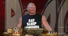 Backstage News on Brock Lesnars Win Over John Cena At SummerSlam www. Brock Lesnar Wwe, Wwe Brock, Wwe Backstage, Paul Heyman, Wwe Live Events, Wwe World, Steve Austin, Soccer Stars