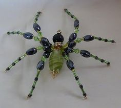 Torque Story: Girly beaded spiders and more for I Might Make That! Monday