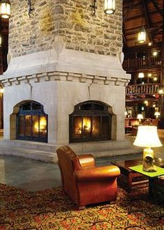 Montreal 2013 // Fairmont Le Château Montebello, winner of the Fodor's 100 Hotel Awards for the Local Flavor category #travel