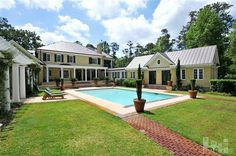 Almost heaven. Who wouldn't want this dream pool? 6417 Quail Run Rd, Wilmington, NC 28409 | New Hanover County #wilmingtonnc #realestate #pool #dream