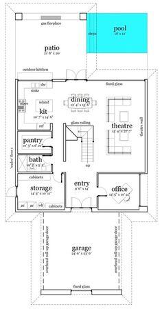 Casa de 4 dormitorios en 2 plantas | Solo Planos .com