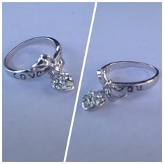 Spotted while shopping on Poshmark: 18k WGF Love You Ring! #poshmark #fashion #shopping #style #Jewelry