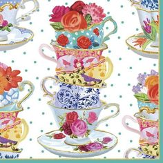 Caspari Tea Cups Cocktail Napkin, Multi-Color , http://www.amazon.co.uk/dp/B00HYUZKJK/ref=cm_sw_r_pi_dp_x_UzQCybQE1RAE7