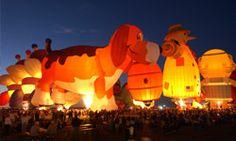 Albuquerque ~ Balloon Glow
