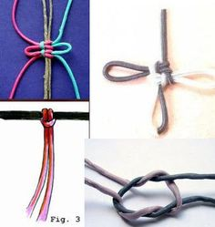 Excellent treasury of macrame knots