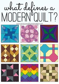 So, what is a Modern Quilt, anyway?