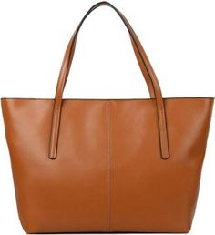 Yahoho Womens Genuine Leather Laptop Work Tote Laptop Tote Bag fe7e87fb72