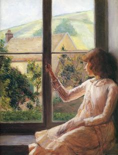 Lilla Cabot Perry Child In Window