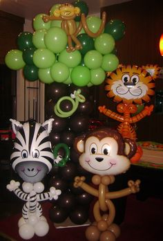 Take a walk on the wild side with our awesome balloon animals!!!