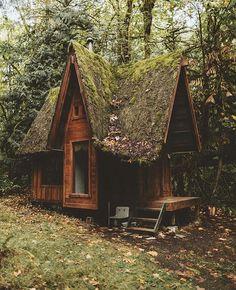 #Cabin by @chriskerksieck. . . . #vscogram #vscodaily #vscogrid #vscocam #vscogallery #wilderness #nature #rustic #vsco #moss #cabins