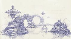 Vasiliy Kourkoff Jr.`s Sketch Blog: Ballpen sketches