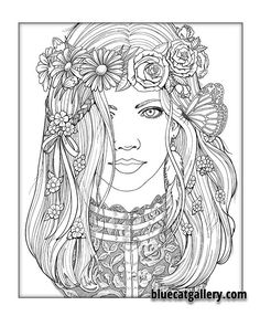 Color Me Beautiful, Women of the World Coloring Book : Victorian Lace