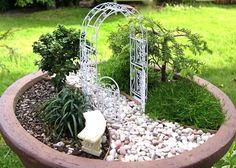 jardin en pot: idée originale de décoration