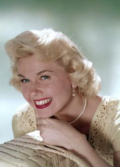 """Doris Day, beautiful color photo of her. """"Great smile"""""""