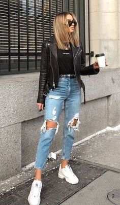 20 spring outfits for teenage girls 29 Casual Summer Fashion Outfits Trends – Fashion – Wonderful summer outfits ideas 11 # ideas furjugendliche.pw … 30 cute casual winter fashion outfits for teenage girls # Premium sportswear that doesn't break … Cute Casual Outfits, Retro Outfits, Stylish Outfits, Casual Jeans, Comfortable Outfits, Cute Outfits For Party, Leggings Outfit Summer Casual, Outfits With Black Jeans, Casual Style Women