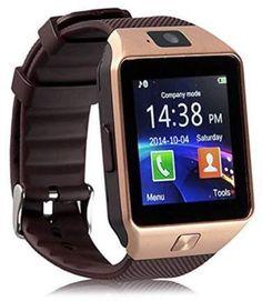 7df1b8fd055 KINGSLIM - DZ09 Bluetooth Smart Watch WristWatch SIM GSM Phone Mate 2.0M  Cam For Android iOS iPhone(Gold) - Walmart.com