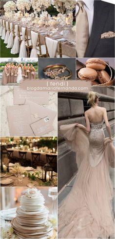 Decoração de Casamento : Paleta de Cores Fendi | Blog de Casamento DIY da Maria Fernanda