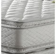 Queen Serta Perfect Sleeper Shire Suite Double Sided Pillowtop Mattress