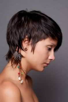 Someday I will have this haircut---when I'm brave enough!
