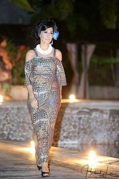 Mena Island Wear, Island Outfit, New Dress Pattern, Dress Patterns, Ethnic Fashion, African Fashion, Samoan Dress, Different Dresses, Tahiti
