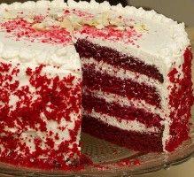 Recette - Gâteau rouge velours - Notée 4.2/5 par les internautes