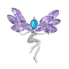Get The Latest Fashion Jewelry  2016 New Purple Crystal Elves Brooch Pins Women Clothing Jewelry Accessories Fashion Silver Rhinestone Brooches Femmale Jewelry     Buy Jewelry At Wholesale Prices!     FREE Shipping Worldwide     Get it here ---> http://jewelry-steals.com/products/2016-new-purple-crystal-elves-brooch-pins-women-clothing-jewelry-accessories-fashion-silver-rhinestone-brooches-femmale-jewelry/    #rings