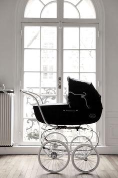 Classic baby pram