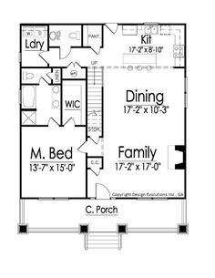 Granny pods farmhouse Oakley house plan - Bungalow style home plan 1000 Sq Ft House, Granny Pods, 1 Bedroom House Plans, Small House Floor Plans, Murphy Bed Plans, Small House Decorating, Cabin Decorating, Rustic Home Design, Cottage House Plans