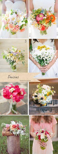 Daisies Wedding Flowers (by theweddingofmydreams)