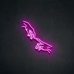 'HAND OF GOD' Neon Sign Gorgeous, insanely high quality neon sign made by hand and built. Custom Made Neon Signs, Cool Neon Signs, Led Neon Signs, Neon Sign Art, Led Logo, Wallpaper Iphone Neon, Aesthetic Iphone Wallpaper, Neon Rose, Neon Licht