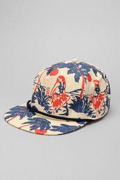 c067019057d Brixton Henshaw Luau Snapback Hat. Custom Baseball ...