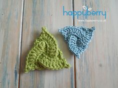 How To Crochet a Celtic Triangle - crochet video tutorial http://youtu.be/h5AKrLA2u7s