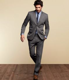 Gray suit that fits skinny hipster people like me from H for $150.