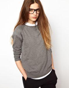 The perfect, high quality, grey sweatshirt.