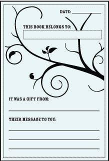 Baby Shower Bookplates