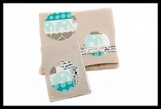 Notepad and Case by The Littlest Thistle made with Umbrella Prints Trimmings 2012.   Please click for a good look at all of Katy's wonderful detail.  http://www.umbrellaprints.blogspot.com.au/