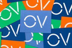 OpenView Corporate Identity, Visual Identity, Brand Identity, Branding, Creative Web Design, Custom Stencils, Business Card Design, Business Cards, Investing