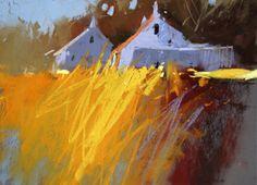 Wheat: pastel on sanded paper x by PASTELimpressions Oil Pastel Landscape, Landscape Art, Landscape Paintings, Pastel Artwork, Pastel Paper, Principles Of Art, Renaissance Art, Your Paintings, Art Drawings